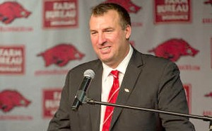 Bret Bielema at SEC Media Days