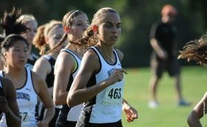 Harding student athlete, Ewa Zaborowska
