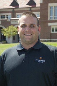 Hendrix head football coach Buck Buchanan