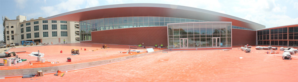 Razorback football center update