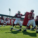 Arkansas Razorback Football Team – Coach Looking for 'Crazy Effort'