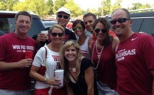 Arkansas Tailgate party MeredithCD