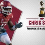 Razorback Defensive End Chris Smith Named to Hendricks Watch List