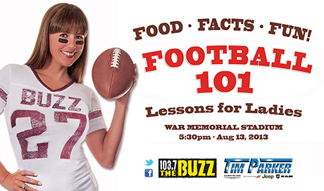 Football 101 Lessons for Ladies