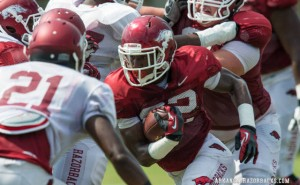 Razorback Practice Report - Preparing for UL-Lafayette