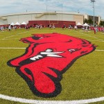 Razorback Football Players Report on Camp Life
