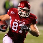 Razorback Tight End Austin Tate Reportedly Injured in Practice