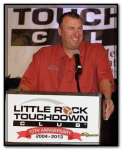 we love you bret bielema at lr touchdown club