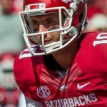 Weight of the Razorback World Rests on Brandon Allen's Shoulder