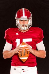 Henderson State Quarterback Kevin Rodgers