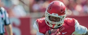 Alex Collins Arkansas 24-Southern Miss 3
