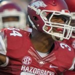 Jim Harris: Razorback Linebacker Challenged to Do His Job