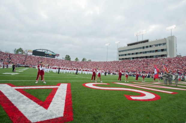 The Razorbacks at War Memorial Stadium