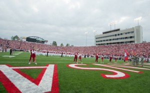 Razorback games in Little Rock at War Memorial Stadium
