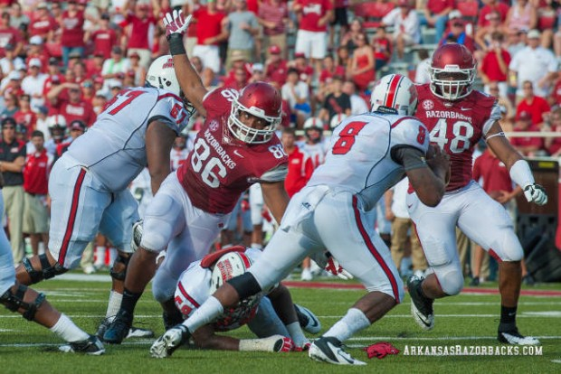 Trey Flowers against ULL