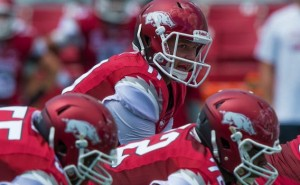 arkansas beats southern miss AJ derby under center