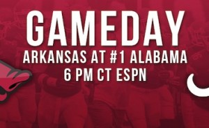 Arkansas at Alabama Live Blog