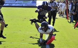Harding Bisons Beat OBU Tigers on Late TD