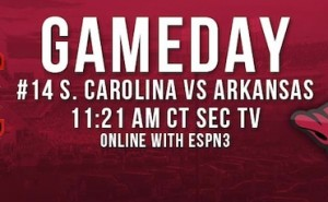 South Carolina at Arkansas Live Blog