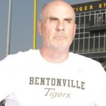 Evin Demirel Visits with Bentonville's Barry Lunney Sr.