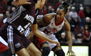 Big Night for Aundrea Gamble Leads to Red Wolves Win
