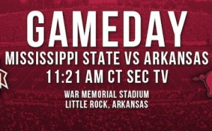 Mississippi State at Arkansas Live Blog