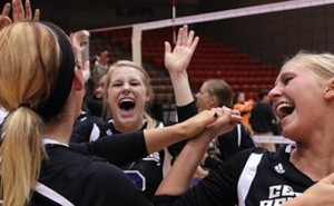 UCA Sugar Bears Volleyball Team Wins Conference Title