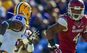 LSU 31, Arkansas 27