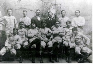 battle of the ravine first OBU team 1895