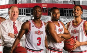 red wolves basketball