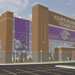 Demolition Planned Friday, Making Way for New Cliff Harris Stadium