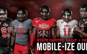Little Rock Pep Rally Planned for Red Wolves Football