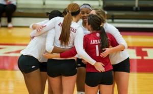 Razorbacks Volleyball Team Prepares for NCAA 1st Round