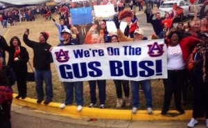 All Aboard the Gus Bus Auburn
