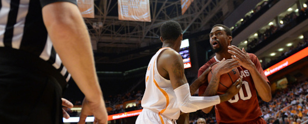 Fouled Up Razorbacks Lose in Tennessee