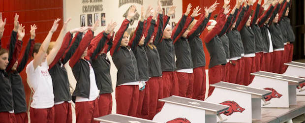 Razorback Swimming and Diving Team Readies for SEC Championships