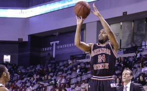 Red Wolves Beat Troy on the Road