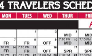 2014 arkansas travelers baseball schedule
