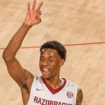 Anthlon Bell for Three & Three & Three &… Hogs Win 1st Round