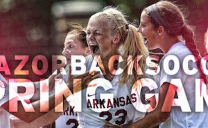 Razorback Soccer Team Faces Memphis at Burns Park