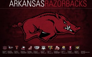 2014 Arkansas Razorback football schedule