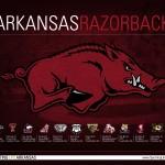 2014 Arkansas Razorback Football Schedule Wallpaper