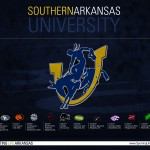 2014 Southern Arkansas University Muleriders Football Schedule Wallpaper