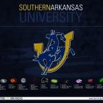 2014 Southern Arkansas University Muleriders Football Schedule Wallpaper