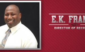 EK Franks Named Director of Recruiting for Razorbacks