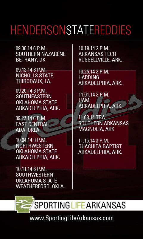 2014 Henderson State Reddies Football Schedule Wallpapers