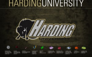 2014 Harding Bisons football schedule