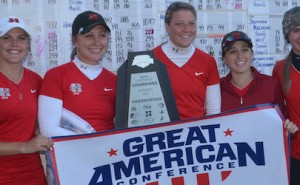Henderson State women's golf champs