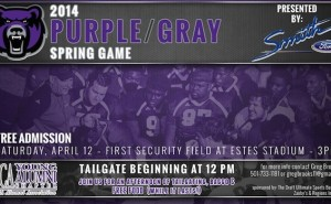 UCA Bears Spring Game 2014
