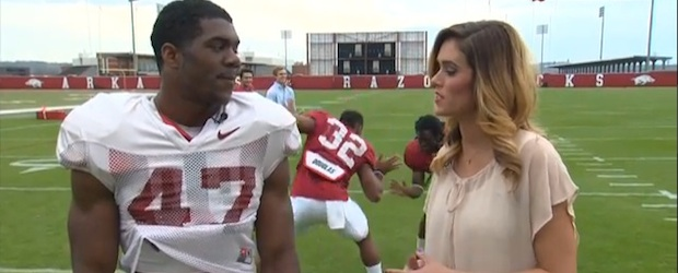 jonathan williams_ alex collins video bomb